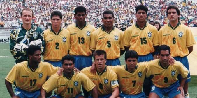 Brasil na Copa de 1994 (Divulgação/ CBF)