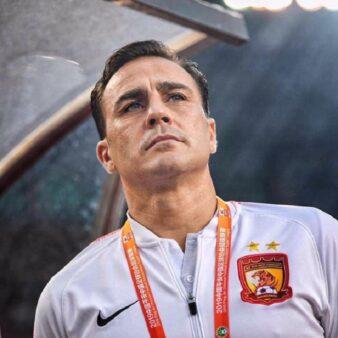 Reprodução/ Facebook oficial Fabio Cannavaro
