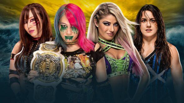The Kabuki Warriors vs. Alexa Bliss & Nikki Cross