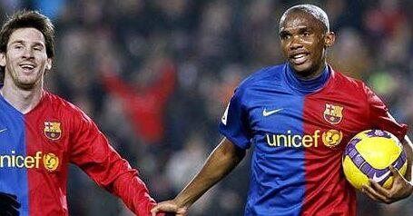 Eto'o: Messi me agradeceu por mudar sua carreira