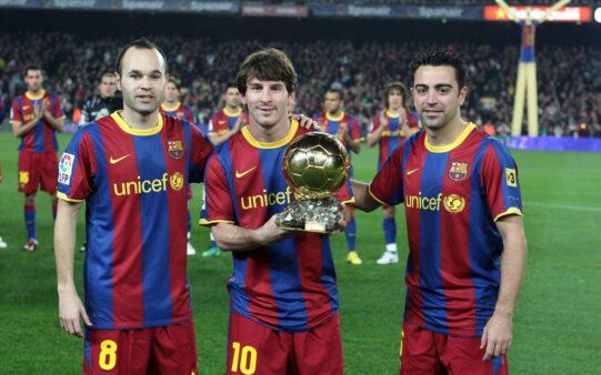 Seleção, jogadores mais valiosos, Messi
