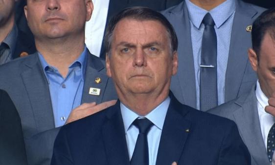 Bolsonaro falou sobre a Copa América.