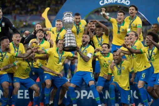 Seleção brasileira venceu Copa América de SBT.