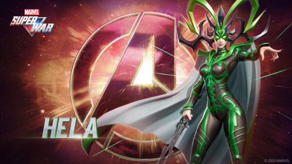 Helafará parte da classe de Energia (Mid Lane) em Marvel Super War