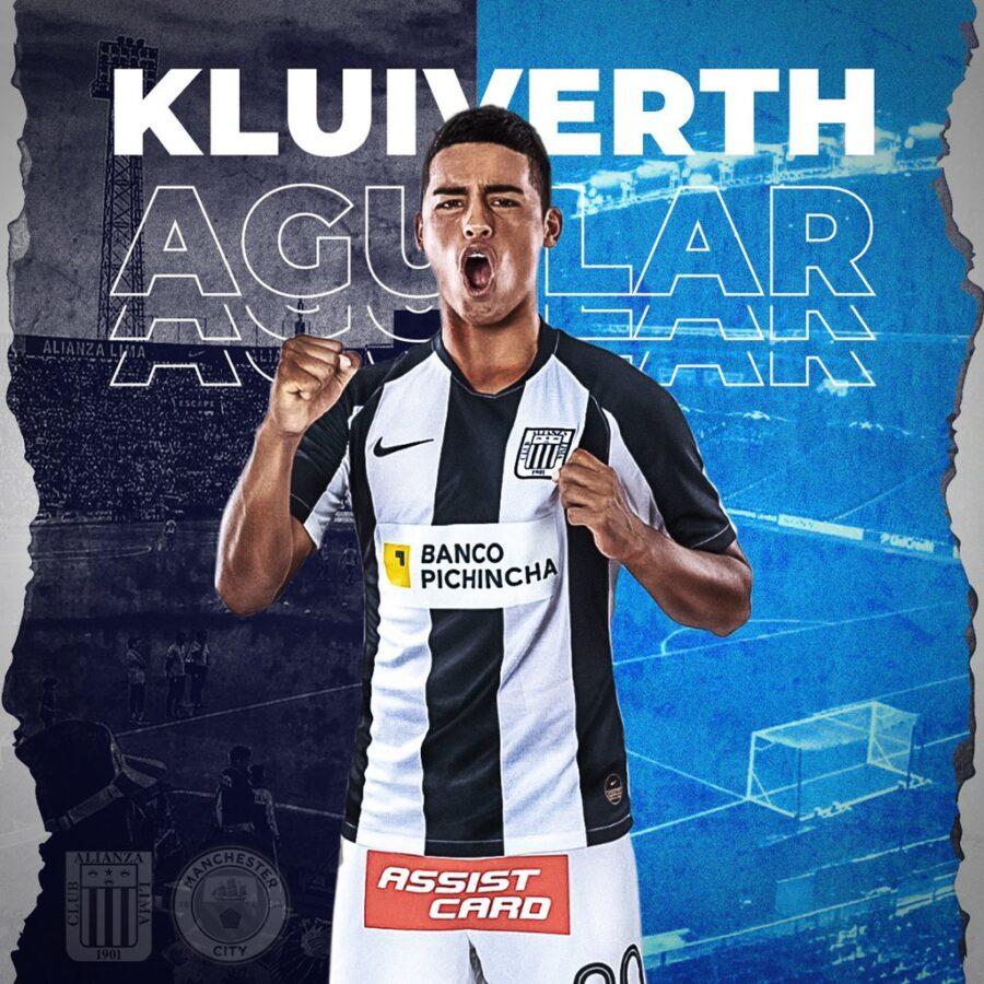 Kluiverth Aguilar é o novo reforço do Manchester City
