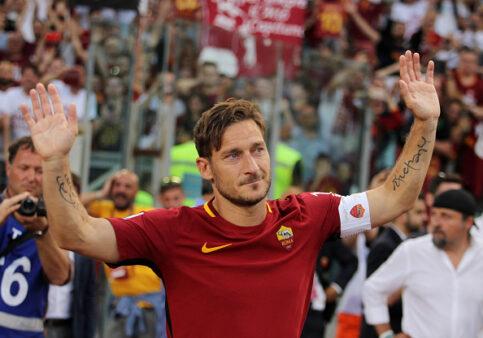 Totti craques pararam após 40 anos