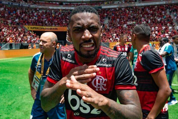 Gerson <a href='/equipes/flamengo'>Flamengo</a>