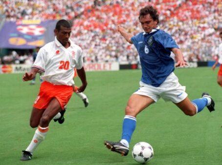 Branco se tornou titular do Brasil em 1994