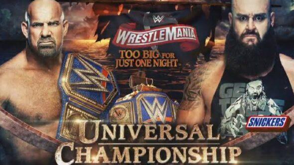 Goldberg vs. Braun Strowman