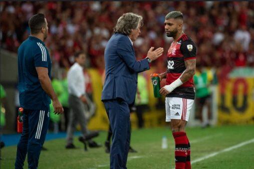 Gabigol e Jesus Flamengo