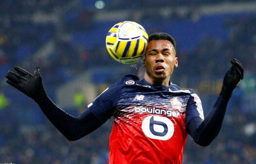 Gabriel Magalhães, do Lille, está na mira do Everton