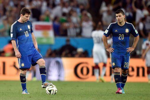 Lionel Messi e Kun Aguero