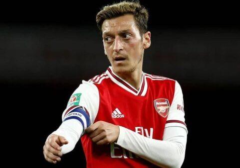 Ozil possui o maior salário do Arsenal