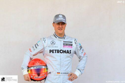 Reprodução / Facebook Oficial Michael Schumacher