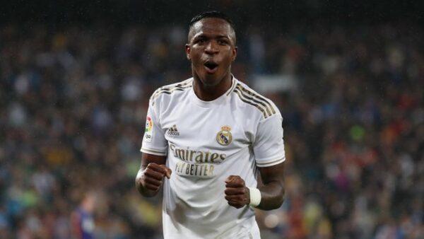 Vinicius Jr busca brilhar no Real Madrid.