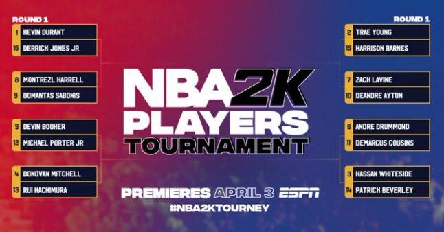 O torneio do NBA 2K20 começa na sexta-feira (03)