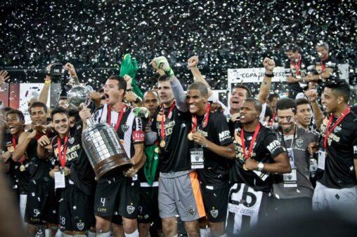 Copa Libertadores de 2013 (Foto: Bruno Cantini/ Atlético-MG)