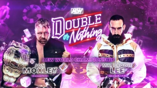 Card final AEW Double or Nothing