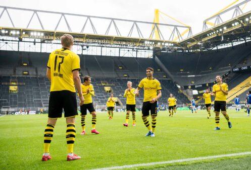 Futebol retornou na Alemanha.