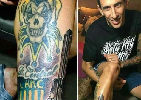 Tatuagem Jogadores