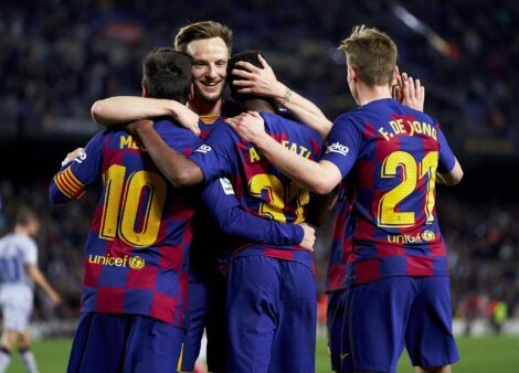 Messi: Barcelona tem esperança apenas por sua presença