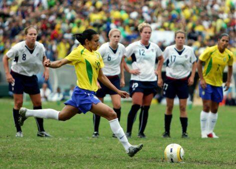 Marta na Seleção