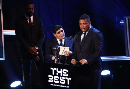 Ronaldo e Maradona