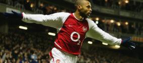 Thierry Henry gostava de jogar pelo Arsenal