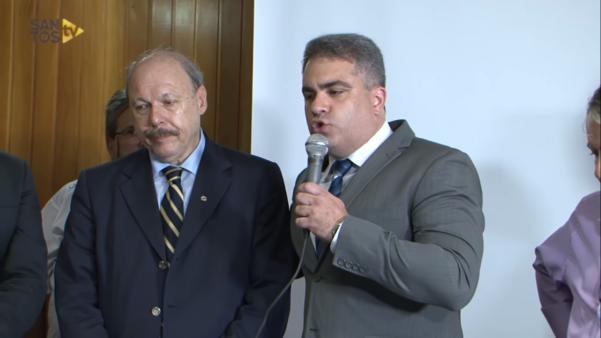 Vice-presidente do Santos detona José Carlos Peres
