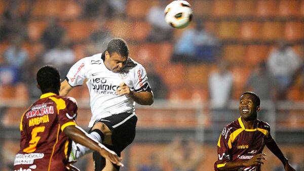 Último jogo Ronaldo Corinthians