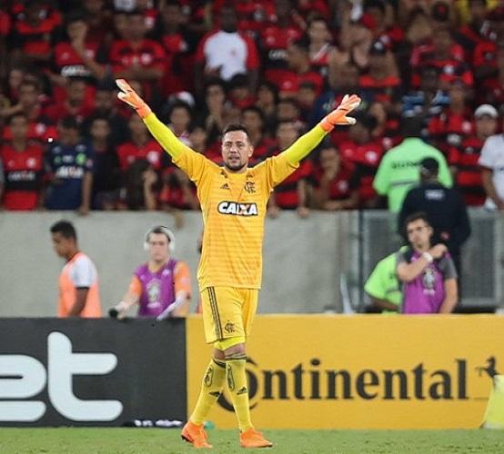 Diego Alves defende o gol do Flamengo desde 2017 e tem 139 jogos disputados pelo clube (Foto: Gilvan de Souza/ Site oficial do Flamengo)