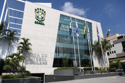 Sede da CBF, entidade responsável pela organização do futebol brasileiro