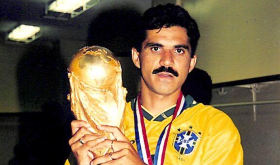 O zagueiro Ricardo Rocha foi o xerife do Brasil na Copa do Mundo de 1994