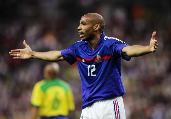 Thierry Henry: o maior artilheiro da seleção francesa de futebol