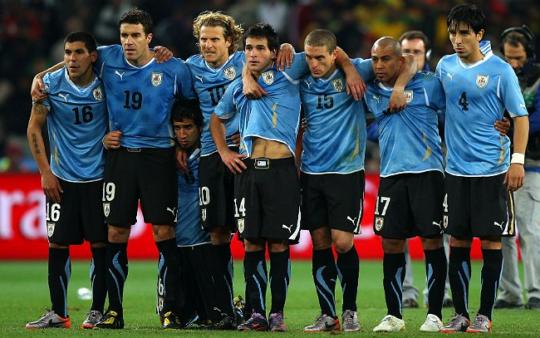 seleção uruguaia teve Forlán como principal jogador