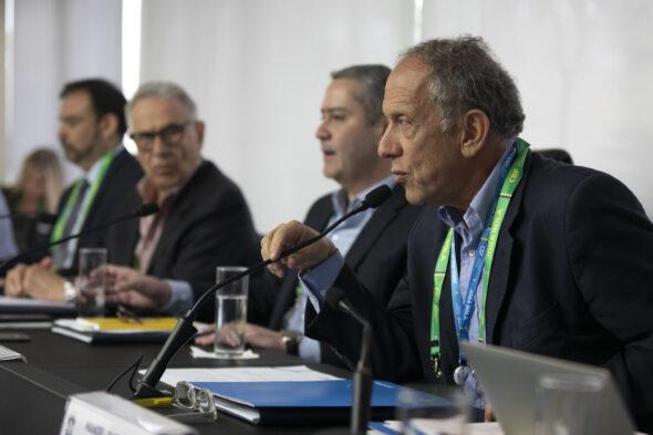 Walter Feldman, secretário-geral da CBF - imagem: Lucas Figueiredo/CBF