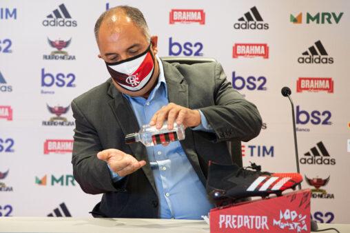 Marcos Braz, do Flamengo
