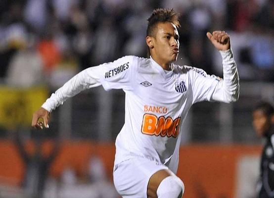 Neymar (Divulgação/ Flickr oficial Santos FC)