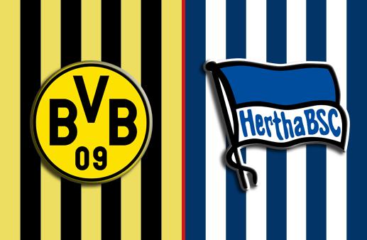 Borussia Dortmund x Hertha Berlin Bundesliga