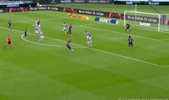 Celta x Barcelona gols