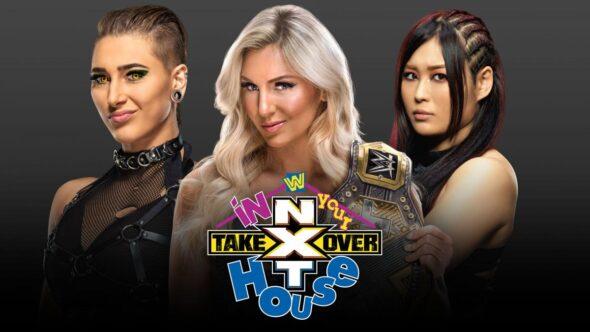 Charlotte Flair vs Rhea Ripley vs Io Shirai