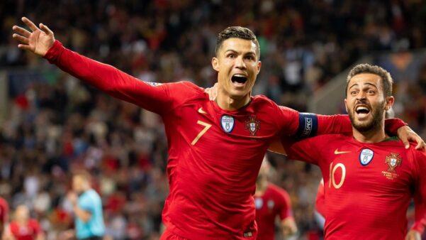 Cristiano Ronaldo segundo maior artilheiro de seleções