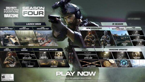 Capitão Price é o operador principal da quarta temporada do CoD:Warzone
