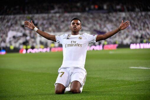 Rodrygo no Real Madrid (ESP)/ Reprodução/ Twitter oficial UEFA Champions League