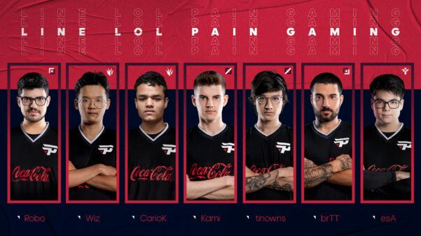 A paiN Gaming não chegou aos playoffs nas últimas duas etapa do CBLoL