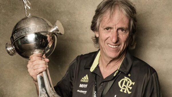 Jorge Jesus é o maior técnico da história do Flamengo