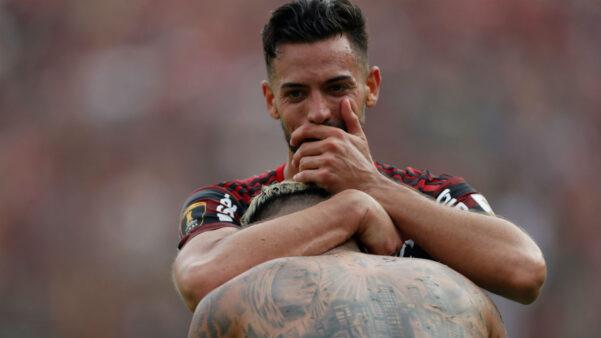 Pablo Marí em ação pelo Flamengo
