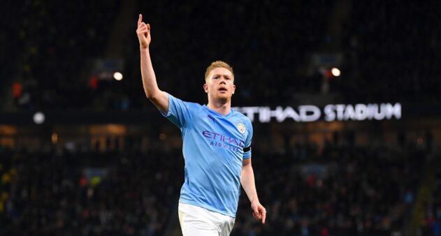 Manchester City De Bruyne Premier League Agenda de jogos