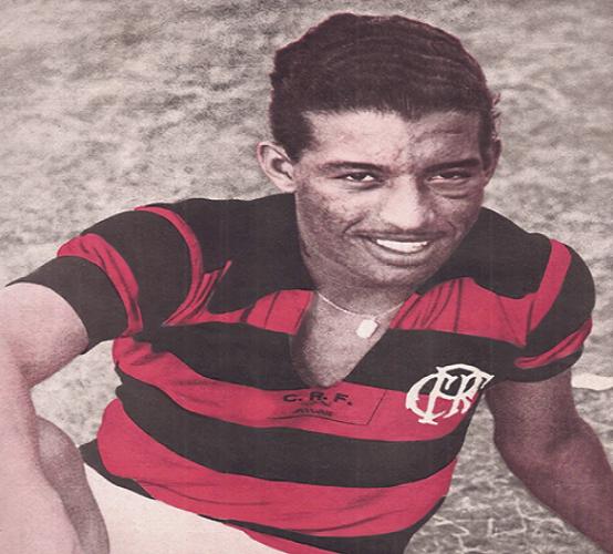 Zizinho no Flamengo (Reprodução)