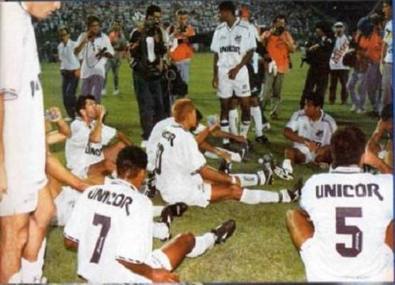 Santos x Fluminense, Brasileirão de 1995 (Reprodução)